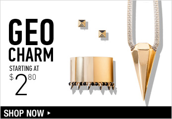 Geo Charm - Shop Now