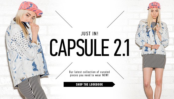 Online Exclusive Capsule Collection - Shop Now