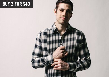 Shop Wovens ft. Flannel, Checks & Plaids