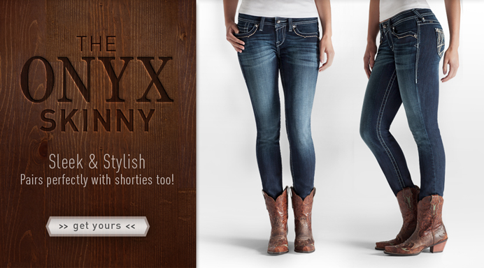 Onyx Skinny Jeans