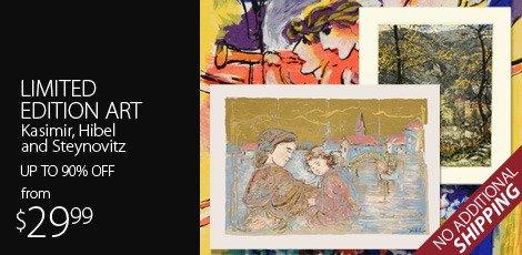 Limited Edition Art Featuring Kasimir, Hibel and Steynovitz