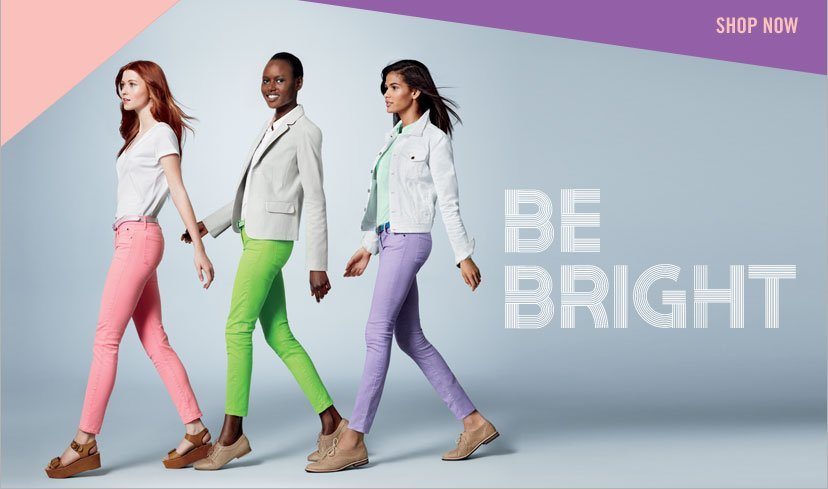 SHOP NOW - BE BRIGHT