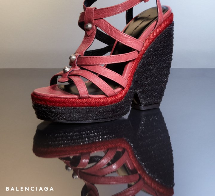 Reach new heights in Balenciaga's NEW wedge