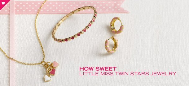 HOW SWEET: LITTLE MISS TWIN STARS JEWELRY, Event Ends February 8, 9:00 AM PT >