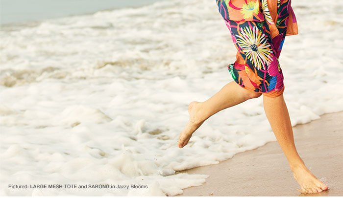 Sarong in Jazzy Blooms