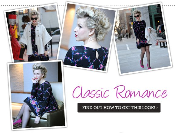 Classic Romance - Find out how to get this look!