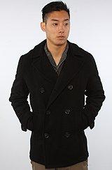 The Wilson Coat in Black