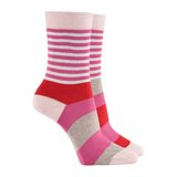 Paul Smith Socks - Pink Odd Stripe Socks