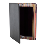 Paul Smith Accessories - Black Signature Stripe Interior iPad Case
