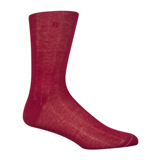 Paul Smith Socks - Damson Needle Out Ribbed Socks