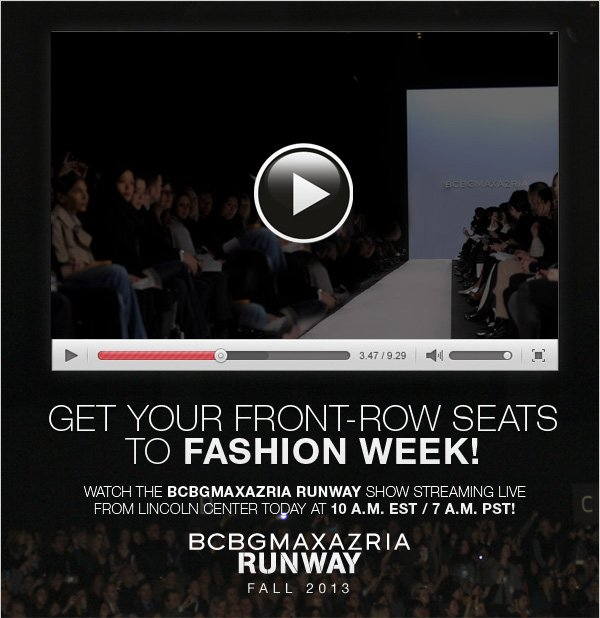 WATCH THE RUNWAY SHOW