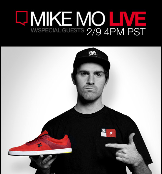 Mike Mo Live w/ Special Guests Feb. 9 at 4PM PST