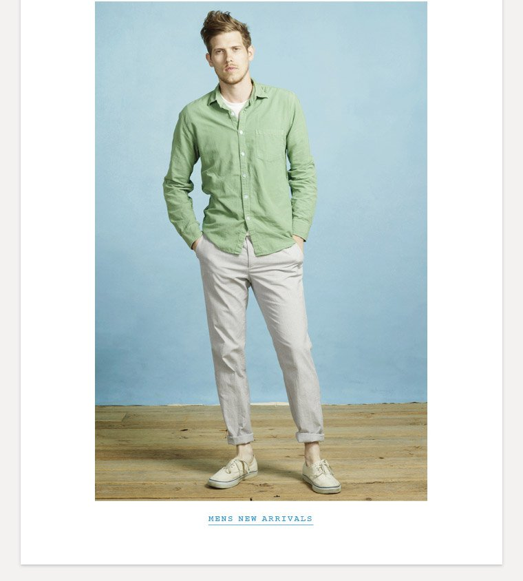 Shop Mens Spring Collection
