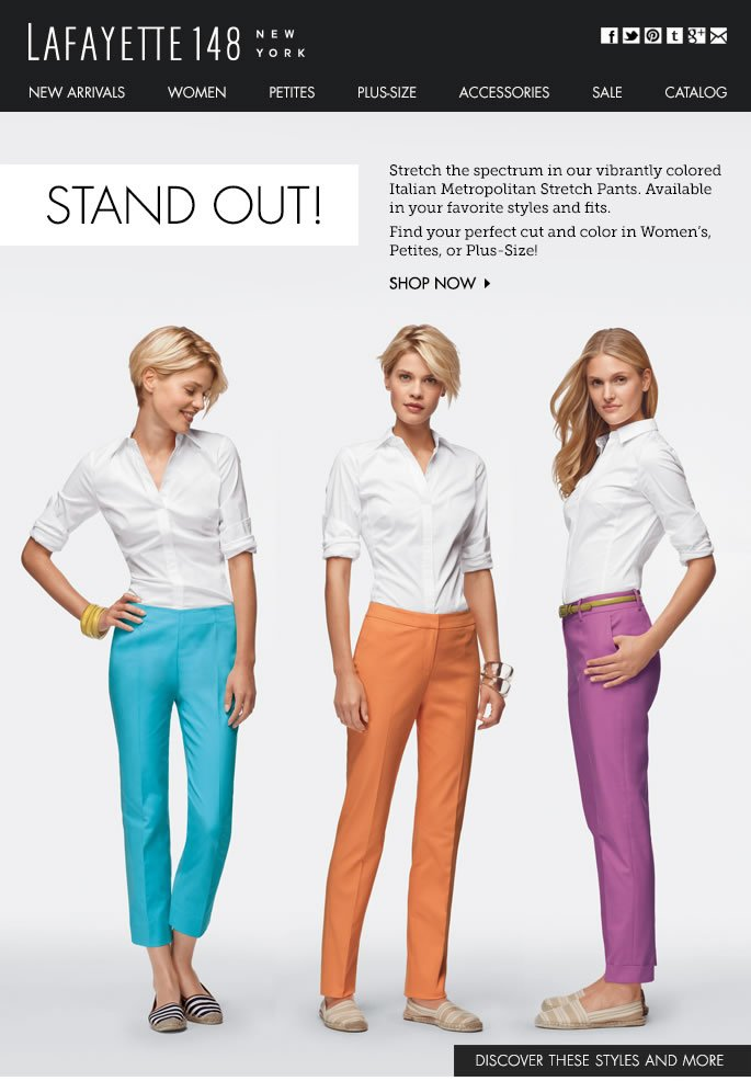 Stand Out! Make a Statement with Colored Pants