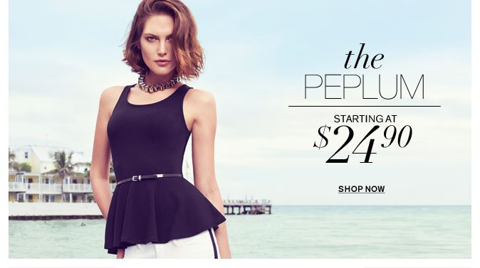 Shop Peplum
