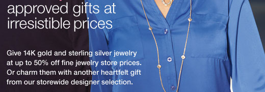 approved  gifts at irresistible prices