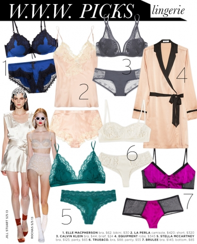WWW Picks: Lingerie