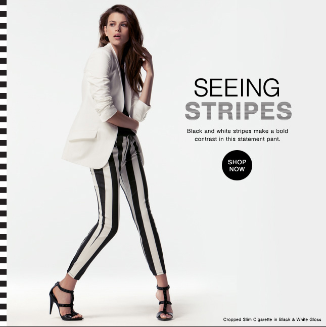 Seeing Stripes: Black & White