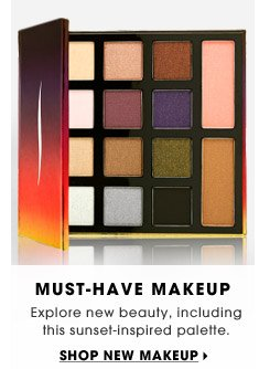 Must-Have Makeup | Explore new beauty including this sunset-inspired palette. | Shop new makeup