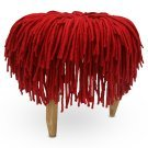 Felted Wool Stool