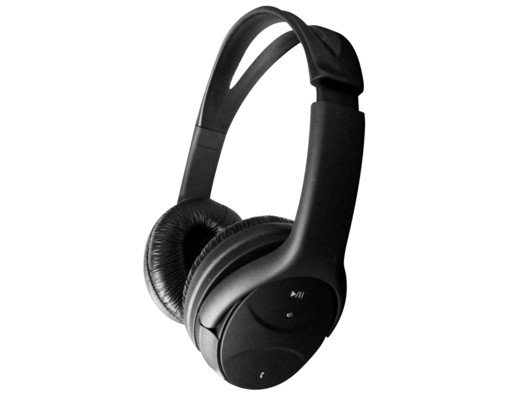 With up to 16 hours of music time, this headset offers the complete listening experience for your iPhone, iPad, and other Bluetooth enabled devices.
