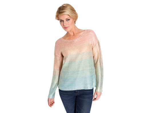 We love how ageless this sweater feels. It would be as great on our mother as it would be on us or even our daughters.