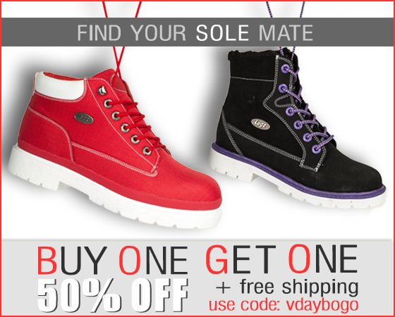 Buy One Get One 50% Off + Free Shipping