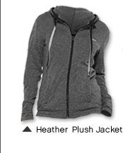 Heather Plush Jacket