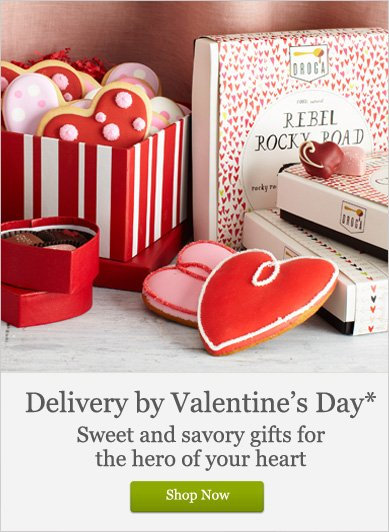Delivery by Valentine's Day - Shop Now