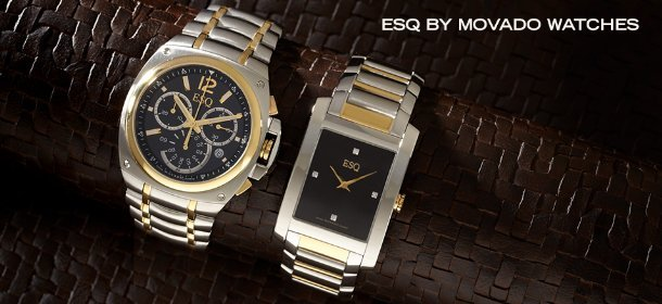 ESQ BY MOVADO WATCHES, Event Ends February 12, 9:00 AM PT >