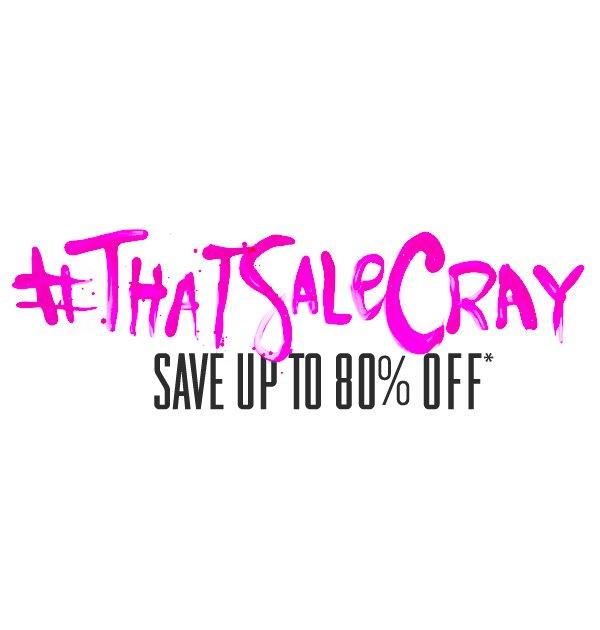 Cray Sale