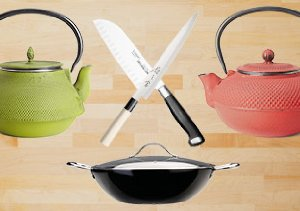 Asian Fusion: Tea Kettles & Cookware
