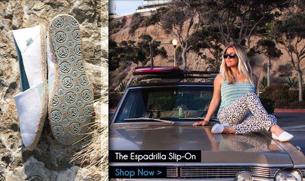 The Espadrilla Slip-On - Shop Now