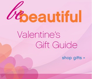 Be Beautiful Valentine's Gift Guide. Shop gifts.