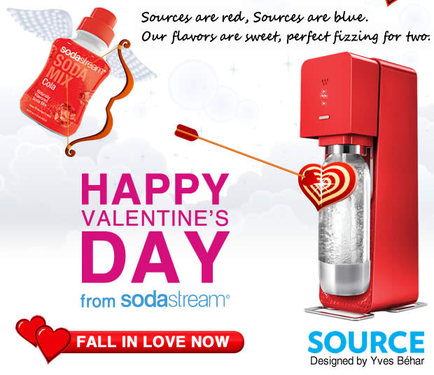 Happy Valentine's Day from SodaStream