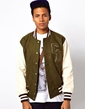 Criminal Damage Varsity Jacket
