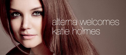 Alterna Welcomes Katie Holmes