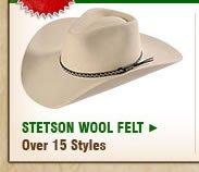 Stetson Wool Felt
