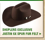 Justin Hat 6X