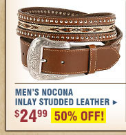 Men's Nocona Inlay