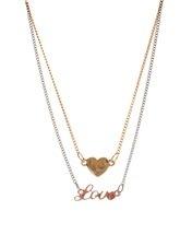 ASOS Love Heart Choker Necklace Pack