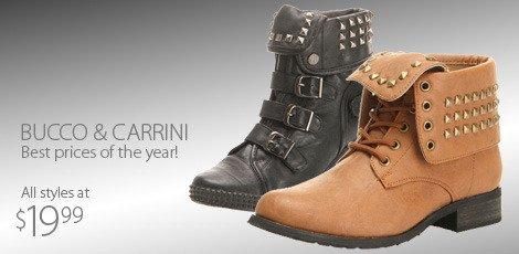 BUCCO & CARRINI all styles 19.99