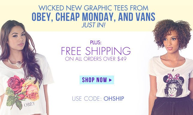 New Graphic Tees on Miss KL! Shop Now!