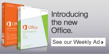Introducing the new Office. See our Weekly Ad.