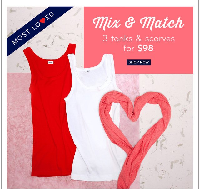 Mix & Match special - plus, a free gift!