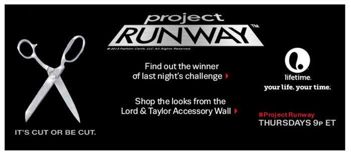 Project RUNWAY. Thursdays 9P ET