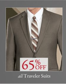 Traveler Suits - 65% Off*