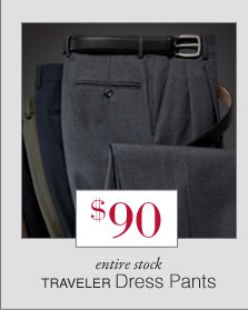 $90 USD - Traveler Dress Pants