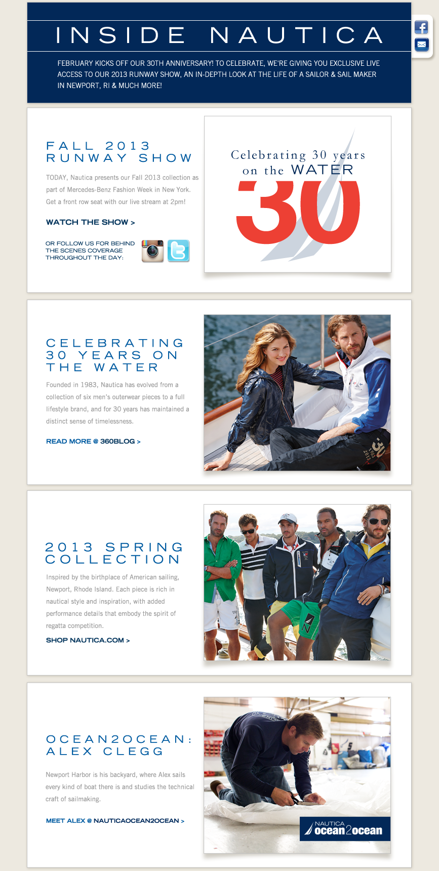 INSIDE NAUTICA: Celebrating 30 years on the water.