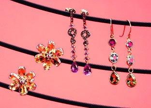 Jewelry Box Essentials: Gemstone Earrings